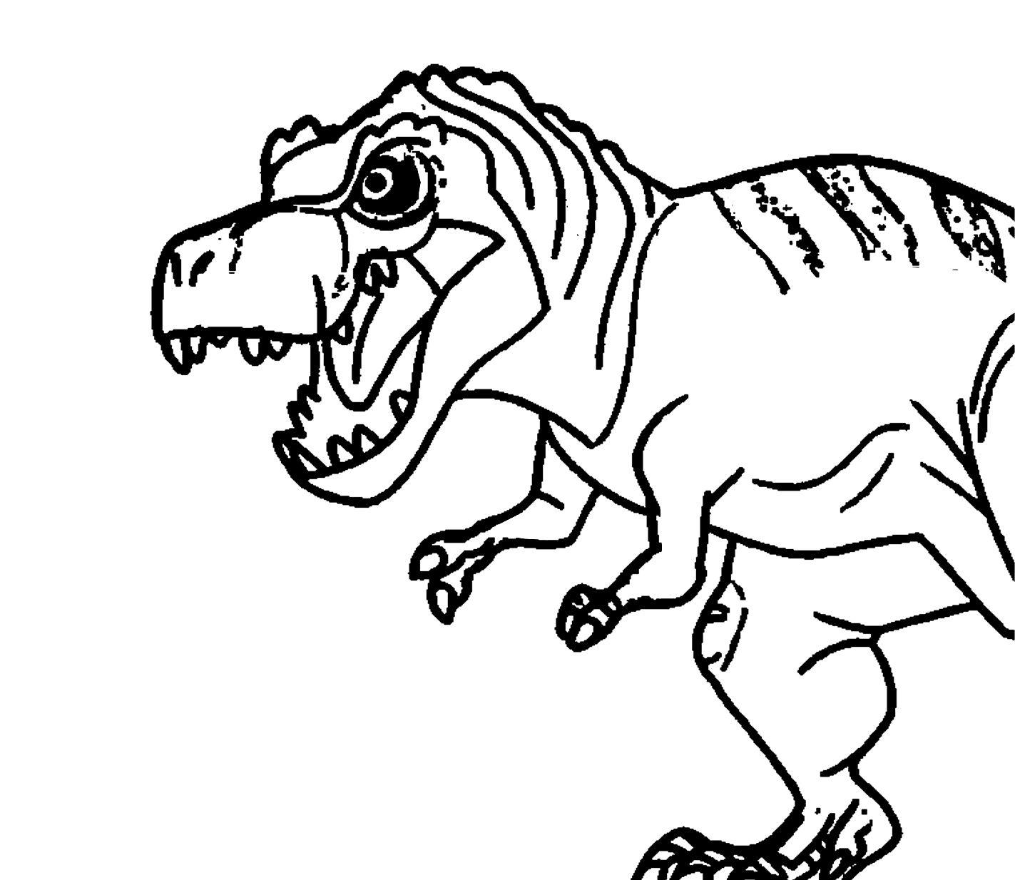 Ausmalbilder Dinosaurier Kostenlos Malvorlagen Windowcolor zum