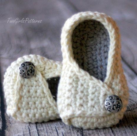 Payton Wrap Shoes by TwoGirlsPatterns | Bebe | Pinterest