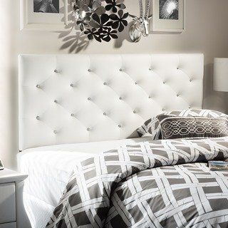 Silver Orchid Ahern Contemporary Headboard Full Beige