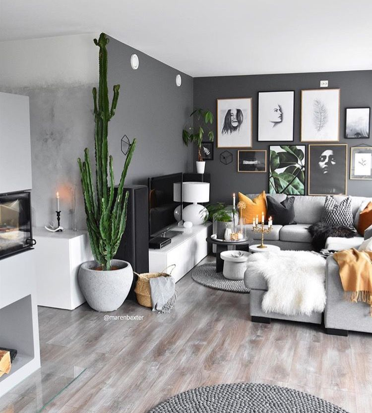 Pin By Jusliv On Casa Grey Walls Living Room Living Room Grey House Interior
