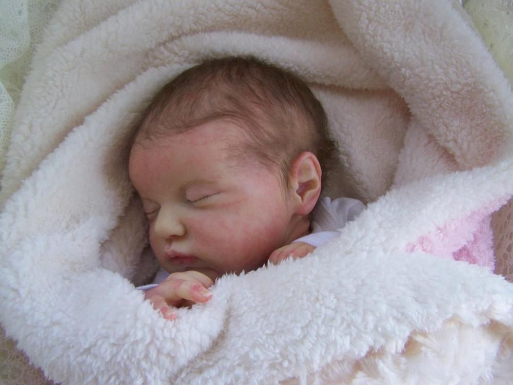 COMFY CLOUDS NURSERY REBORN BABY GIRL EVANGELINE LAURA LEE ...