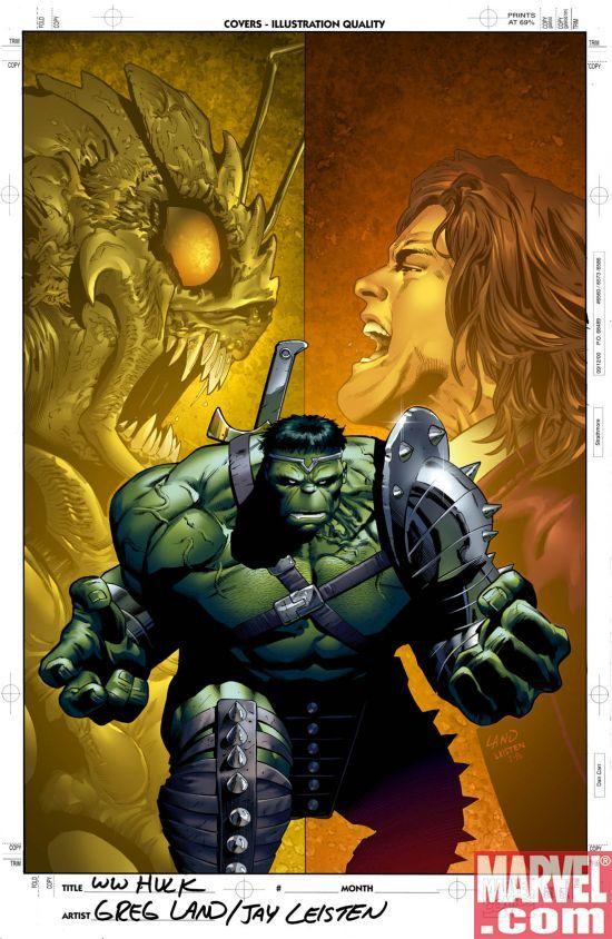 Incredible Hulk by Greg Land & Jay Leisten
