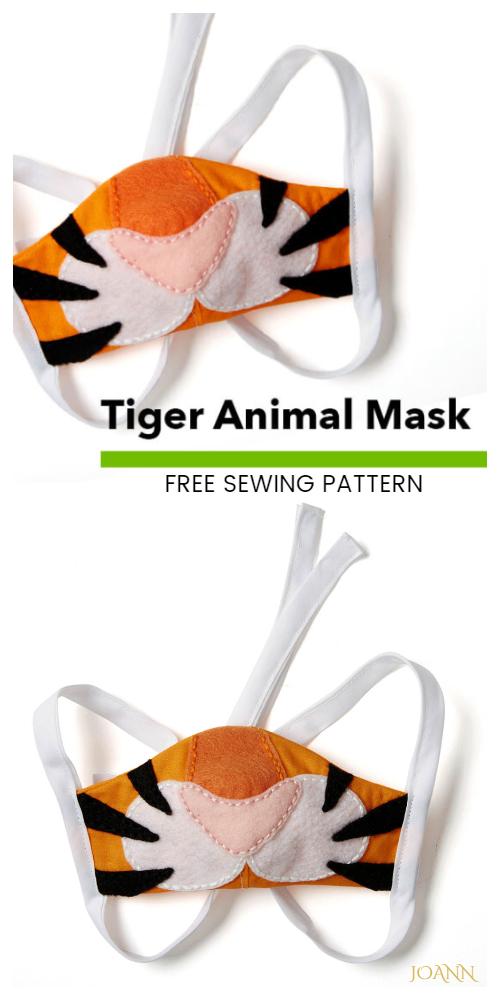 6 Fun Kids Face Mask Free Sewing Patterns Fabric Art DIY