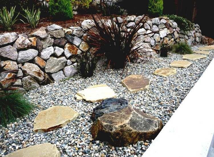 20 DIY Ideas For Garden Decor With Pebbles And Stones Garden Decor