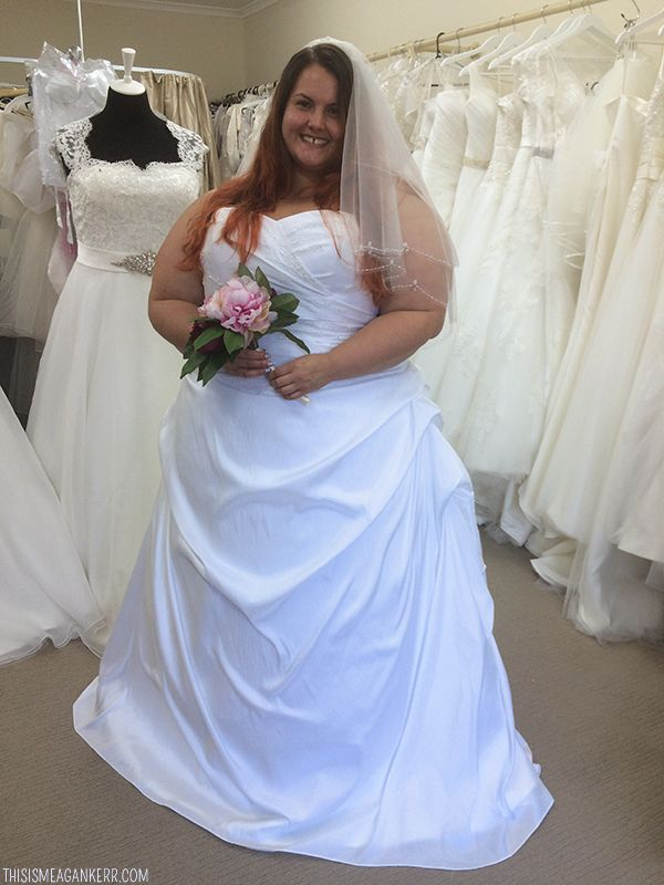 This Is Meagan Kerr Plus Size Wedding Dress Nz