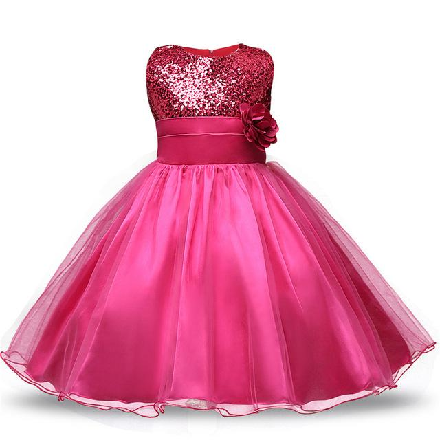 Girls Clothing Red Costume Outfits Princess Girl Fancy Tutu Dress ...