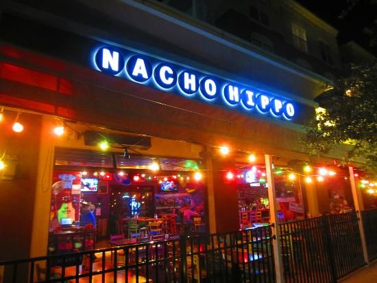 Mexican restaurant nacho hippo in market common delicious nachos obviously vacation for Mexican restaurant garden city
