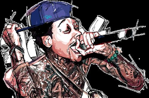 Pin By Harmonee S Creations On T Shirts The Wiz Cartoon Pics Wiz Khalifa