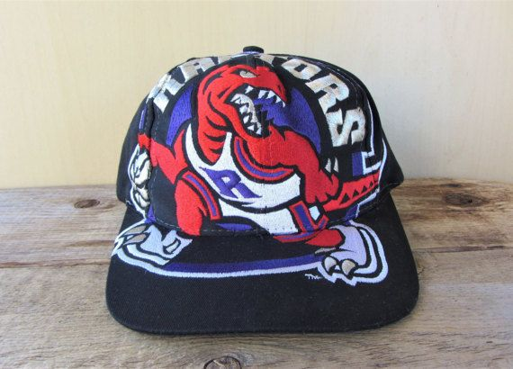 Toronto RAPTORS Vintage 90s BiG LOGO Extreme Snapback Hat by The Game    HatsForward.com 207a5ba6a76