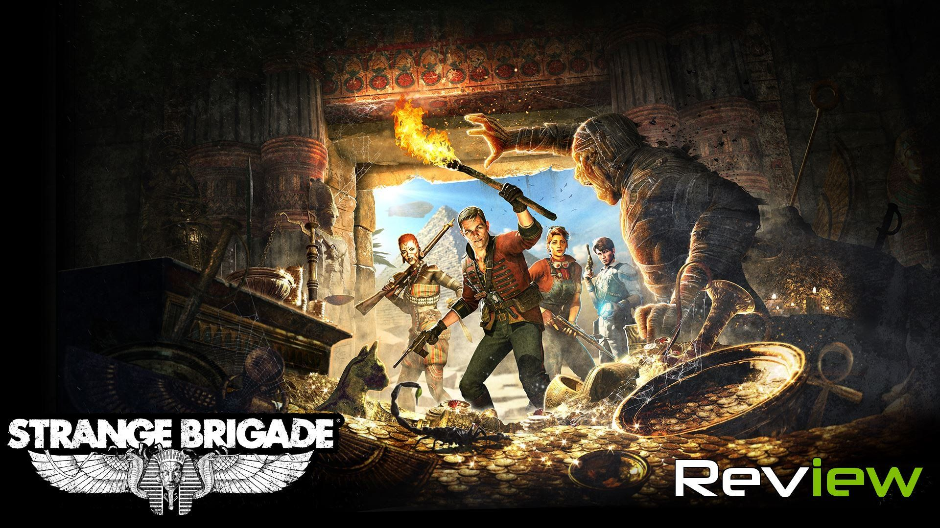 Strange Brigade Review The Spirit Of Adventure Zombie Army Scenes Strange