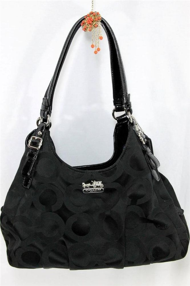 Black Coach Hobo Handbag - HandBags 2019