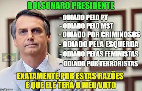 Resultado de imagem para HUMOR - #BOLSONARO2018