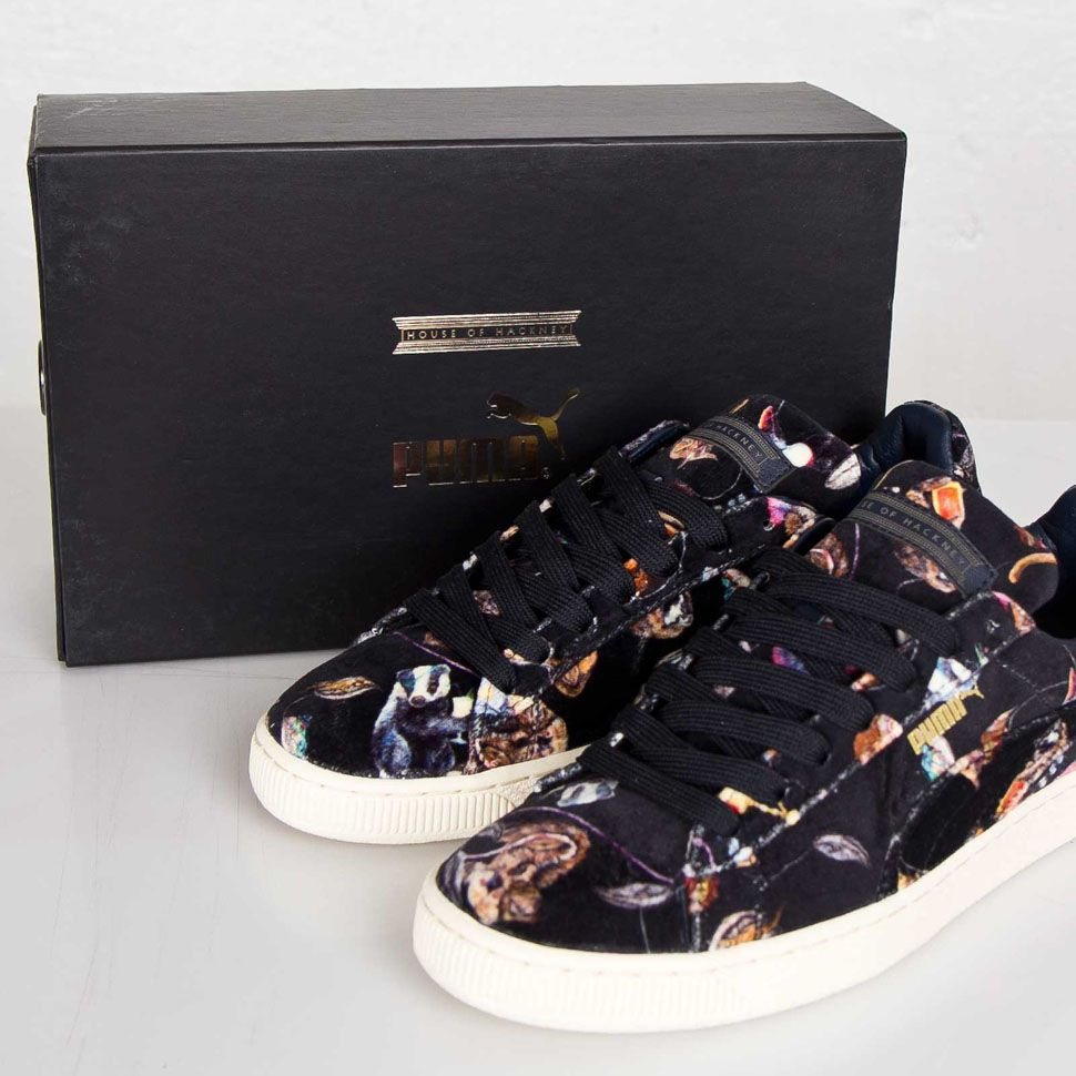 puma basket x house of hackney