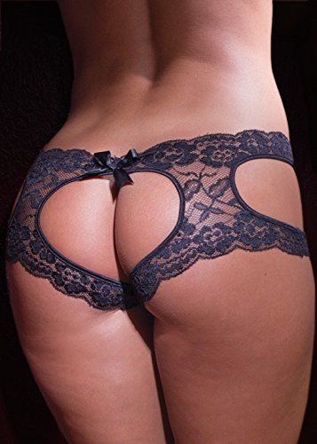 b8d94bf564 Sexy Heart Shaped Open Crotch Open Back Panties