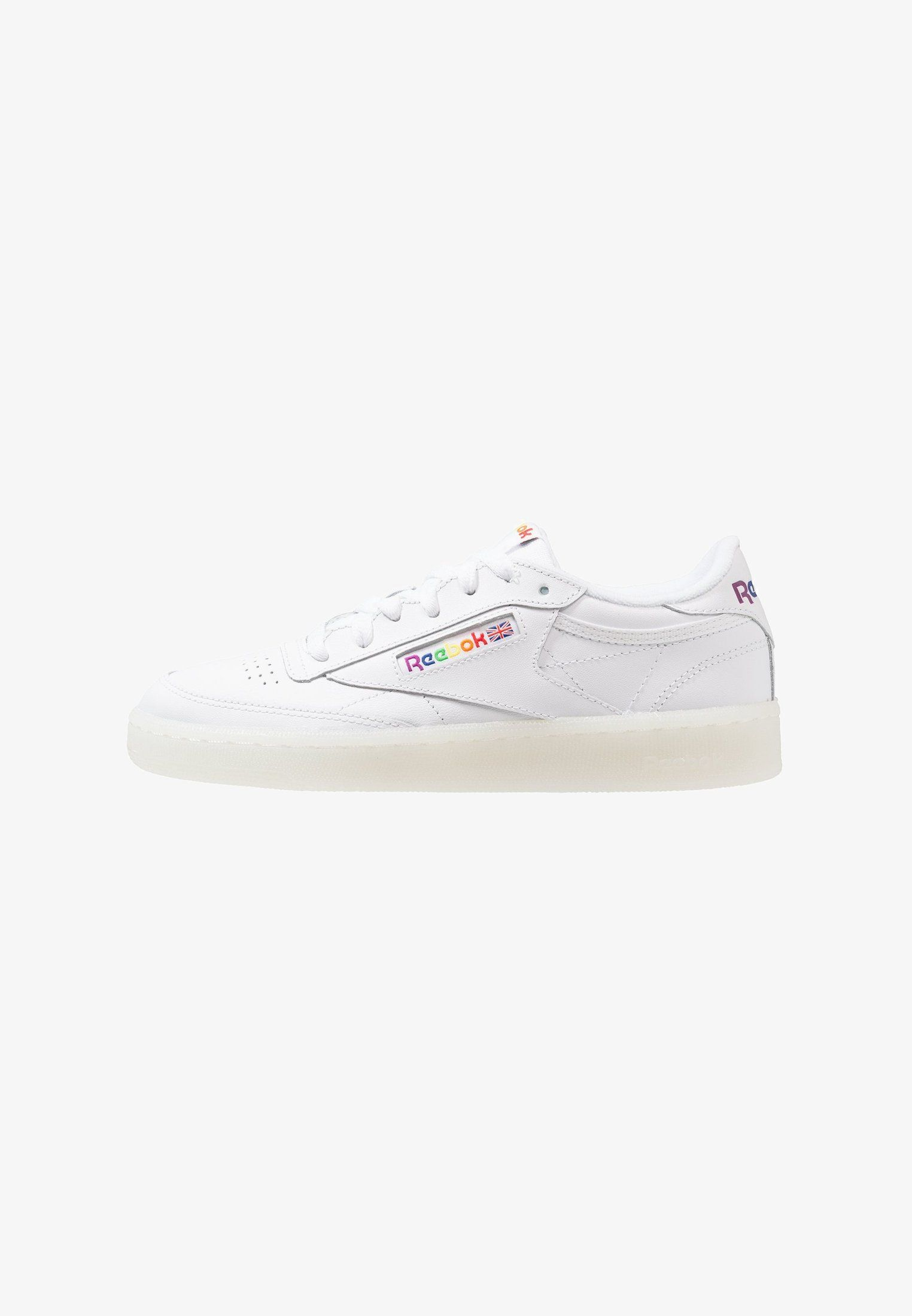 Reebok Classic CLUB C 85 Baskets basses whiterainbow