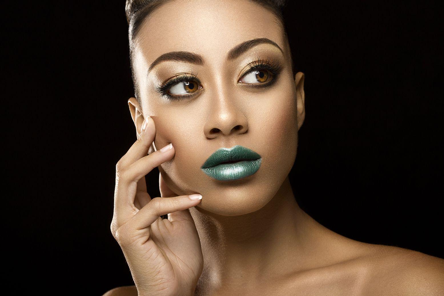 Makeup for black women, African American makeup, makeup