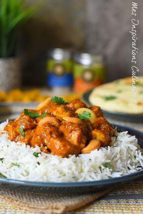 Poulet Korma Recette Recette Cuisine Indienne Poulet Korma Et