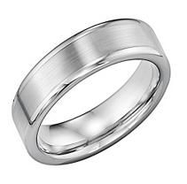 Tungsten Carbide 6mm Comfort Fit Wedding Band With Images