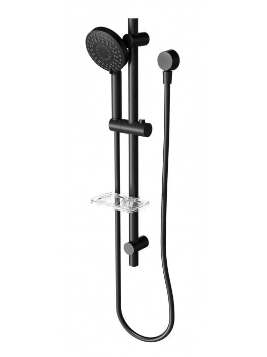 PHOENIX VIVID MATTE BLACK SHOWER RAIL - Showers - Bathroom ...