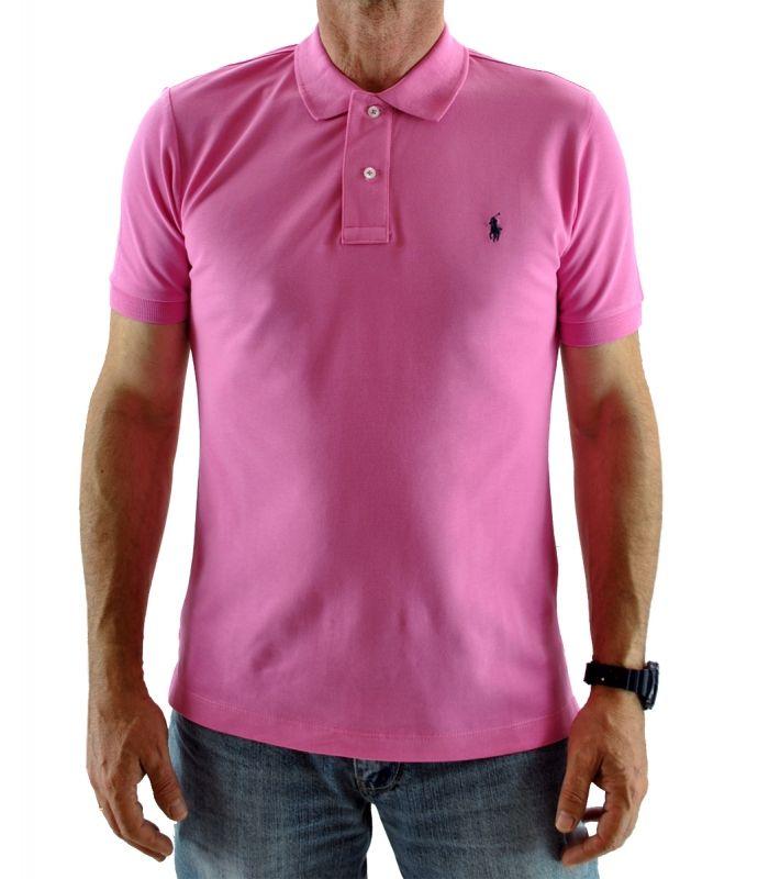 3e01490966beb2 Vendita online di grandi firme a prezzi scontati. POLO RALPH LAUREN, SUMMER  COLLECTION Polo T-shirt model's Slim Fit short sleeve cotton
