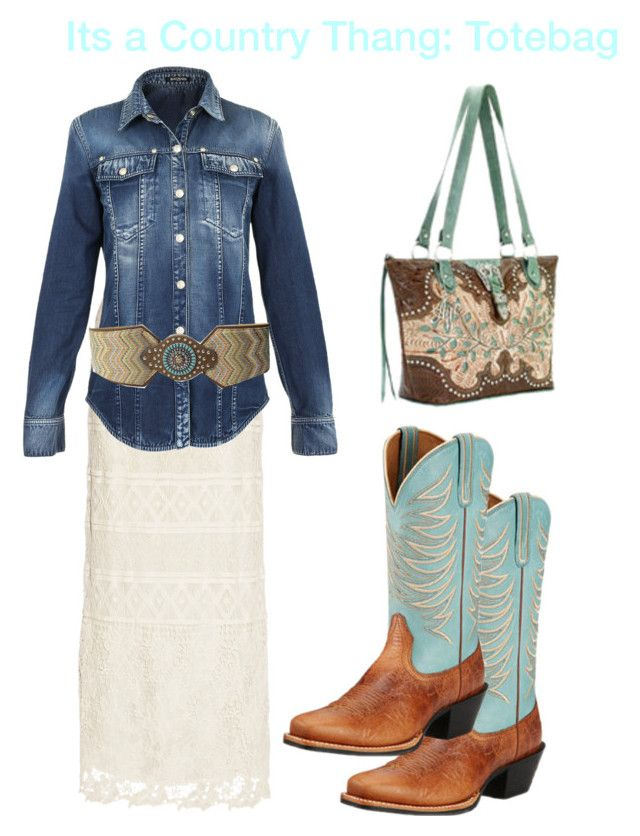 """""""It's a country thang: Totebag contest"""" by im-karla-with-a-k ❤ liked on Polyvore featuring Miguelina, Balmain, M&F Western, Ariat, country, women's clothing, women's fashion, women, female and woman"""