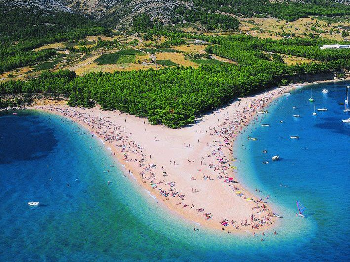 Najatraktivnija hrvatska plaža Zlatni rat promjenila oblik - Croatian Hot Spots