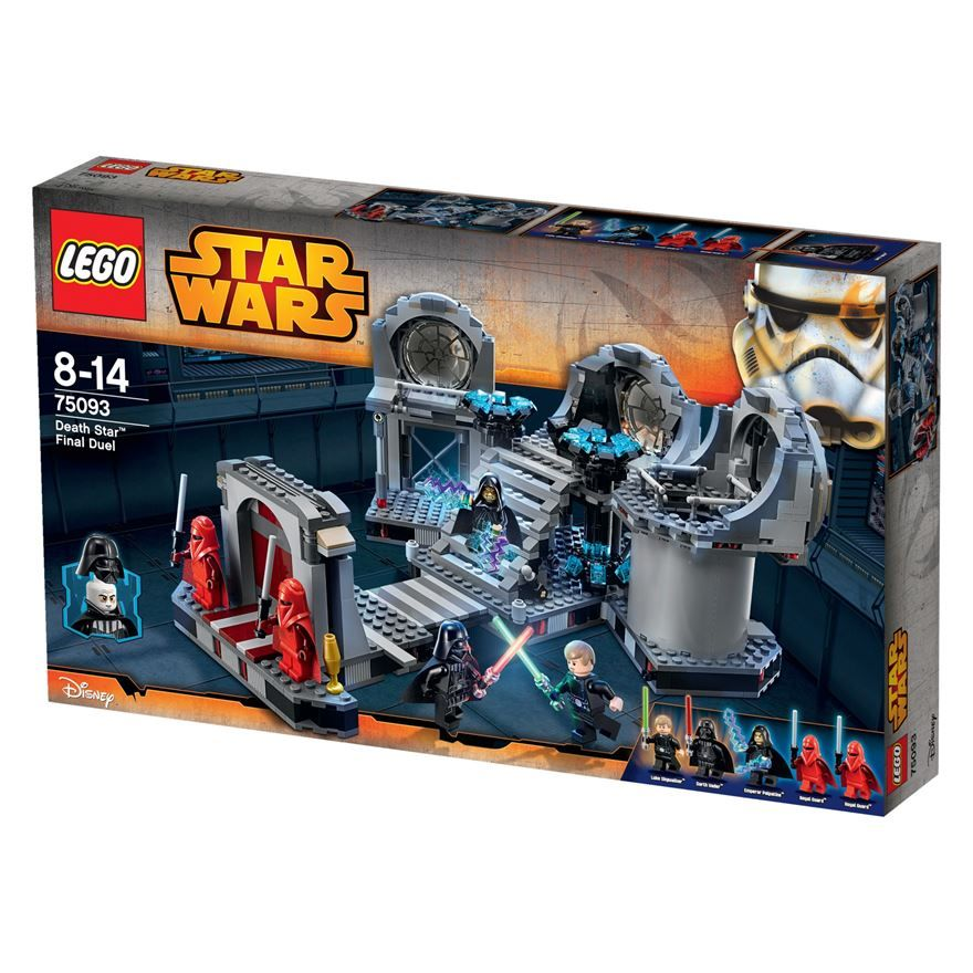 LEGO Star Wars Death Star Final Duel 75093 | Our Favourite Lego ...