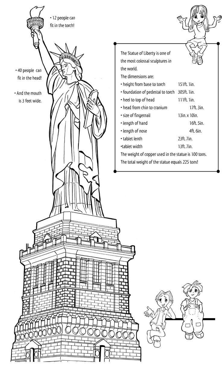 Statue of Liberty Activities Worksheets – Statue of Liberty Worksheets