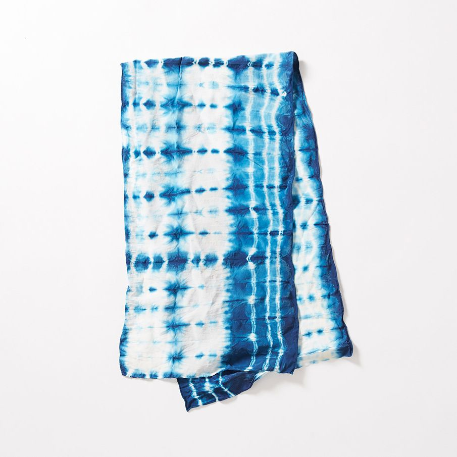 indigo dyed scarf | for the closet | pinterest | indigo, scarves