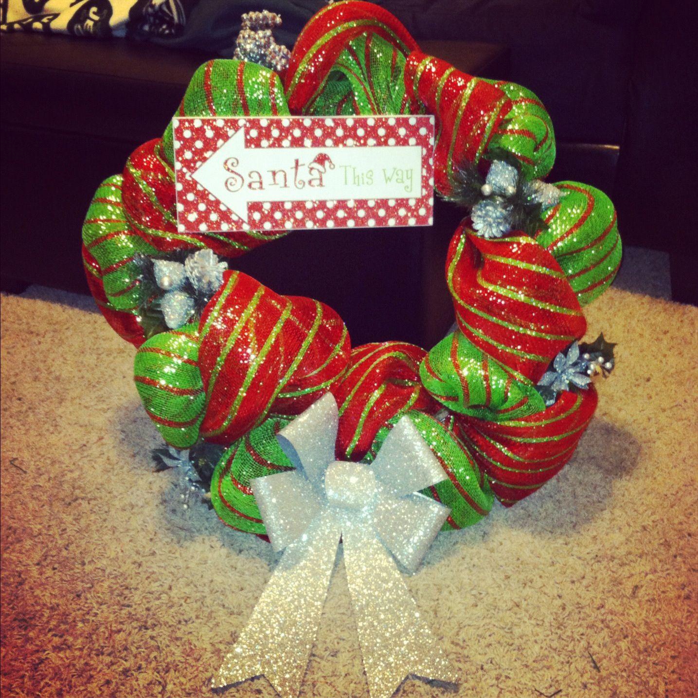 Christmas wreath for Grandma i made ) Christmas wreaths