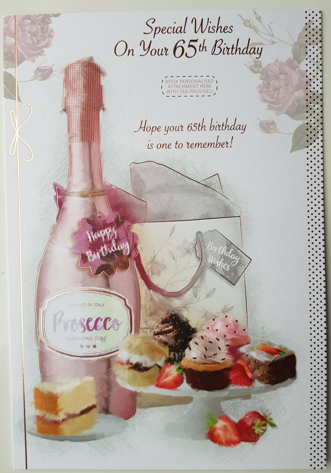 Special Wishes 65th Birthday Card Female Wife Mum Sister
