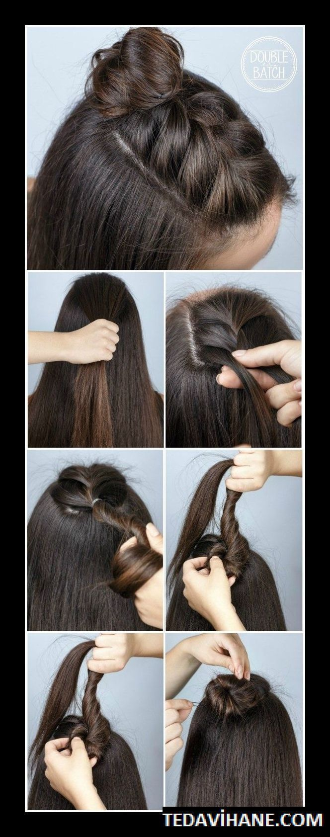 Hair #Styles #For #School # 22 #Quick #and #Easy #Back #to #School #Hairstyle # Tutorials + #back_to_school_bulletin_boards # #back_to_school_diy # #back_to_school_hairstyles # #back_to_school_highschool # #backtoschoolhairstyles