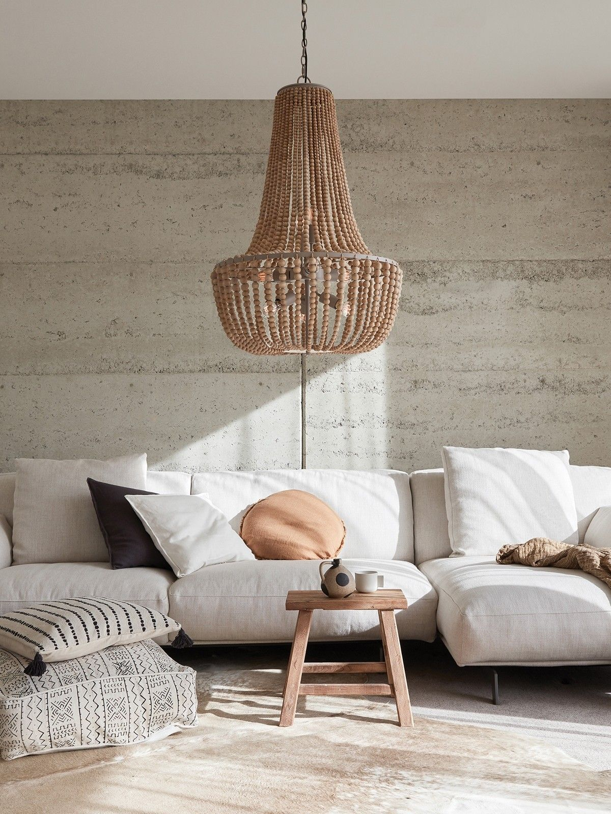 Kky 8 Light Pendant In Natural Simple