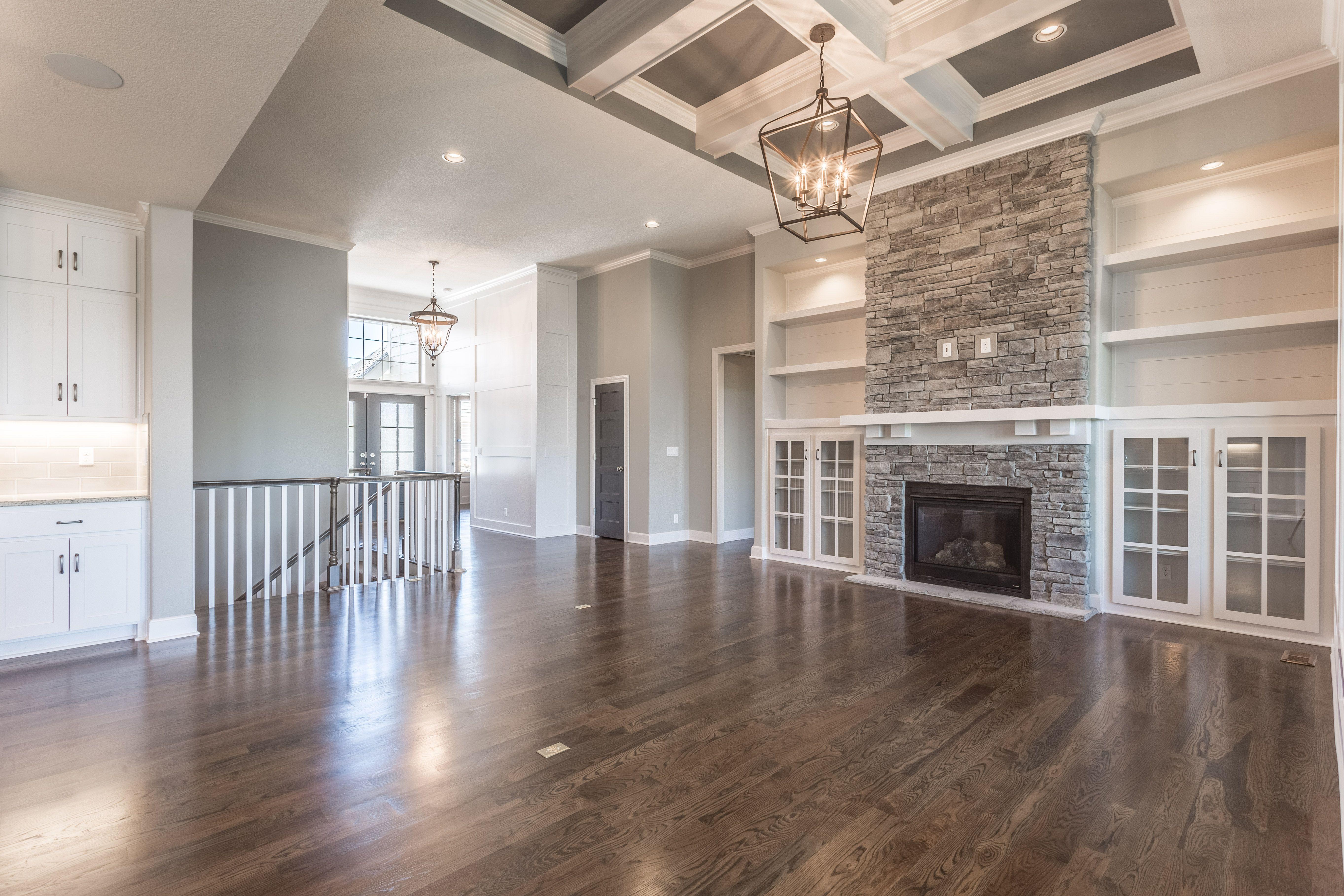 Reverse 1.5, Floorplan, Beams, Coffered Ceiling, Stone ...