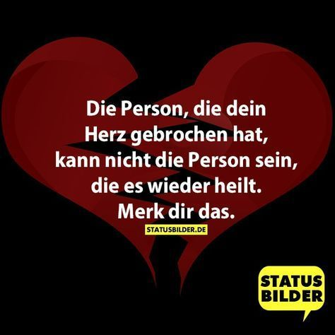 #liebeskummer #herzschmerz #gebrochen #sprche #person #sprche #wieder #person #heilt #nicht #merk #sein #kann #herz #deinDie Person, die dein Herz gebrochen hat, kann nicht die Person sein, die es wieder heilt. Merk dir das. - Liebeskummer Sprüche, Herzschmerz Sprüche