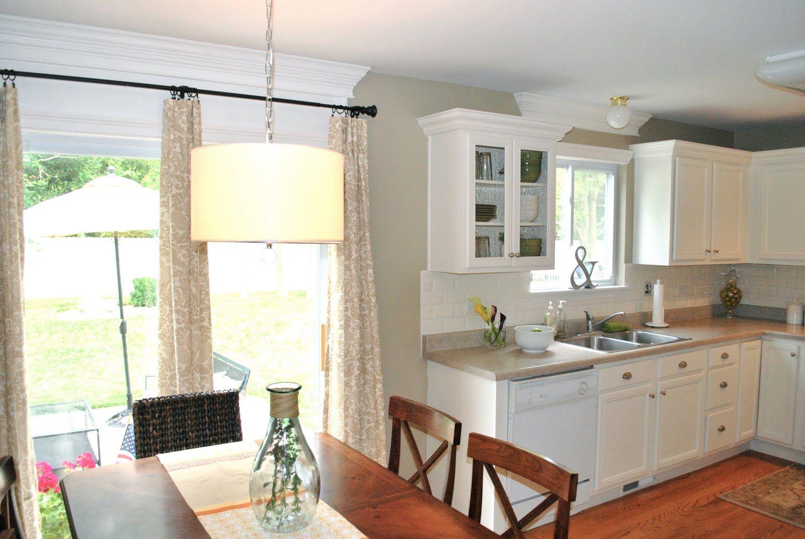 Print Of Tips For Window Covering For Sliding Glass Door Kitchen Patio Doors Sliding Glass Door Patio Door Curtains