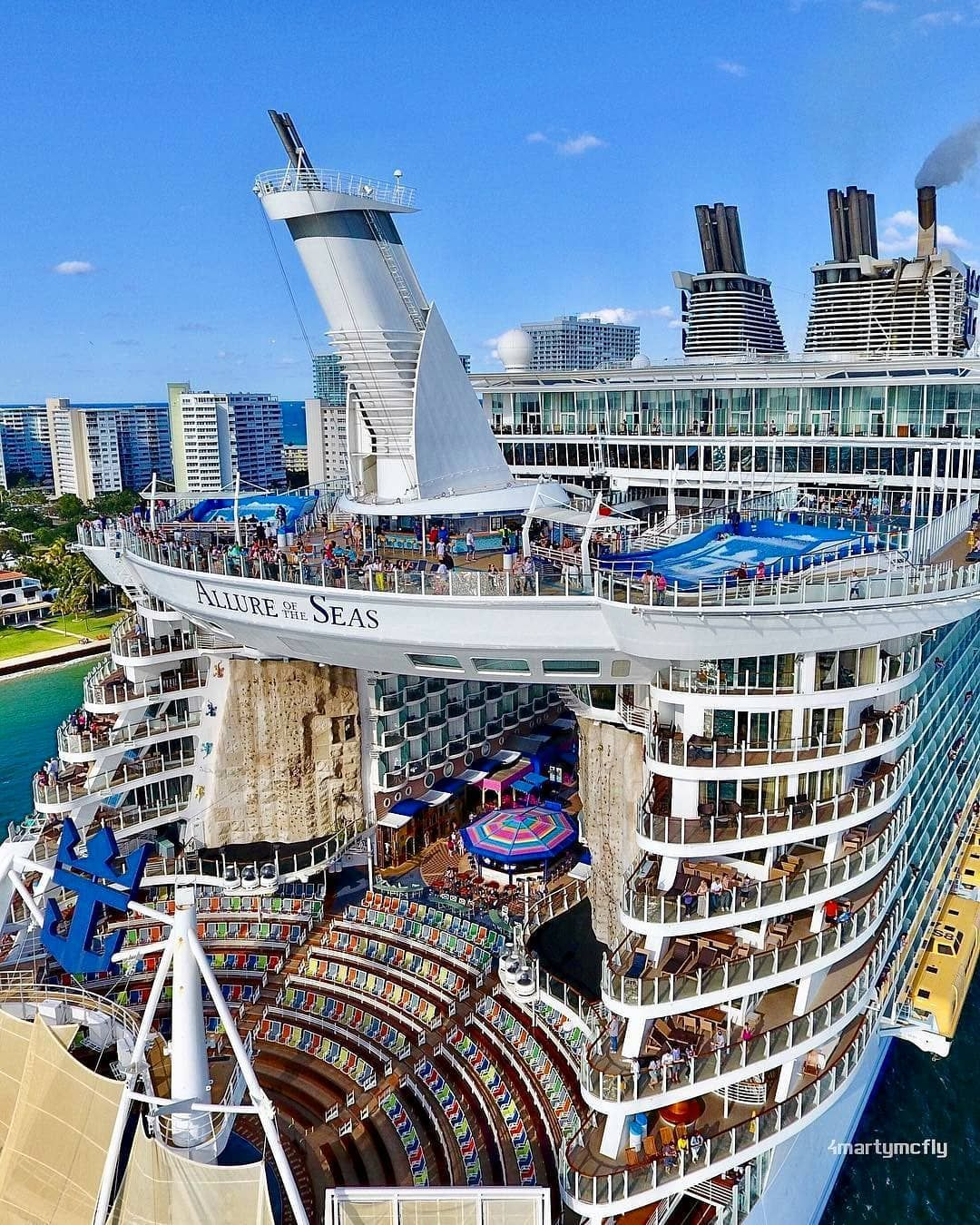 """Cruise Ships (@cruisedaily) No Instagram: """"Allure Of The"""
