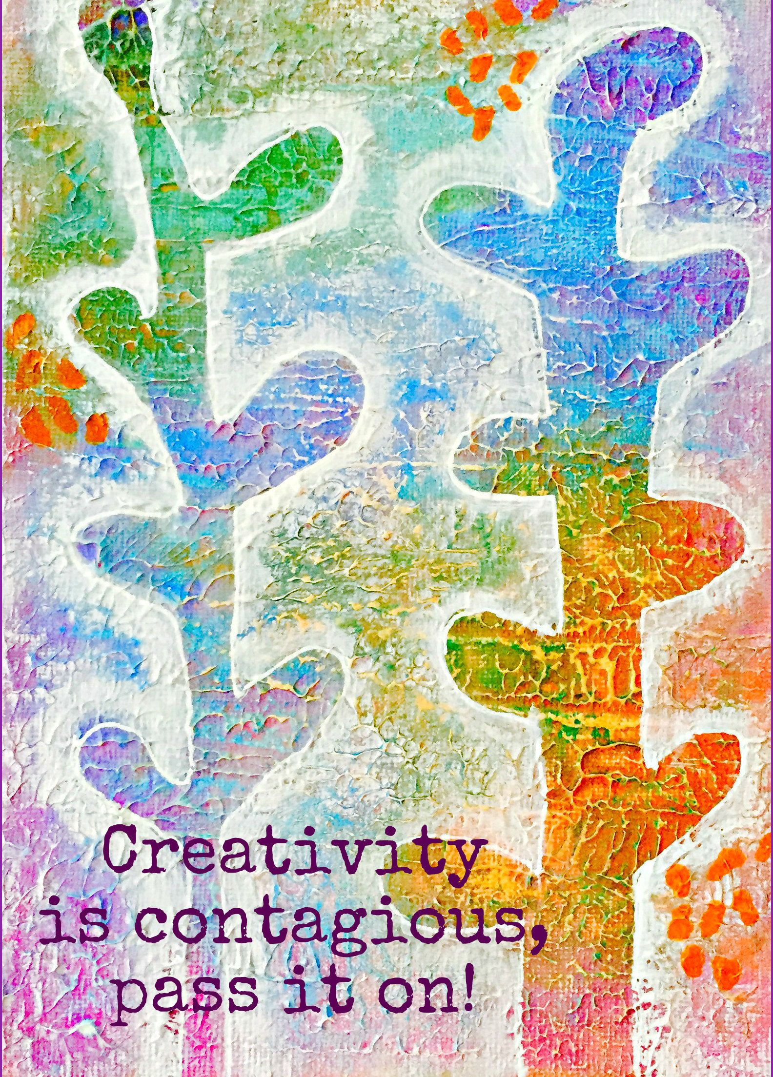 Stalks of Color by Shelley Graham Turner  #colors  #colorful #quote #creativity #sgturnerart