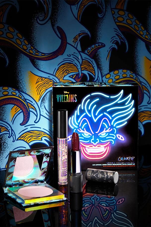 Disney Villains Makeup ColourPop Disney villains