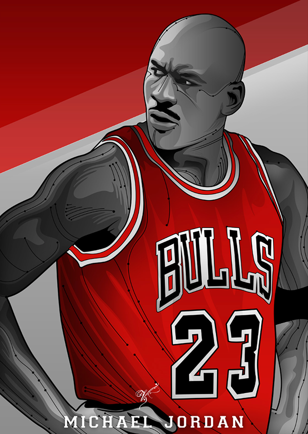 Nba Legends Vector Series On Behance Michael Jordan Basketball Michael Jordan Art Michael Jordan Pictures