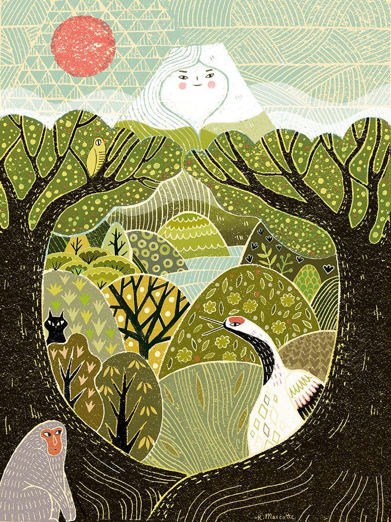 Kathleen Marcotte   Illustration Inspiration   Pinterest   Mi estilo ...