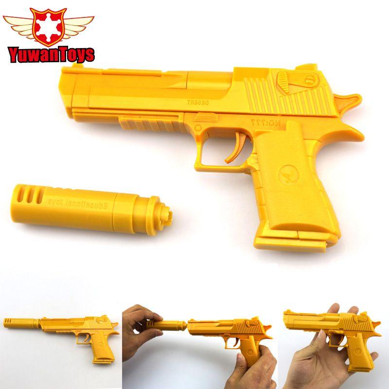 Desert Eagle Assembled Building Blocks Toy Guns Pistol Gun
