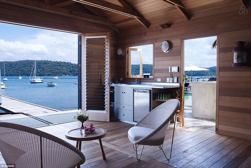 This spectacular setting in Palm Beach, Australia is one of Airbnb's most expensive options at $5000 per night
