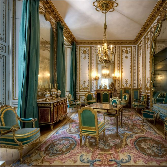 The Grand Cabinet Of Queen Marie Antoinette