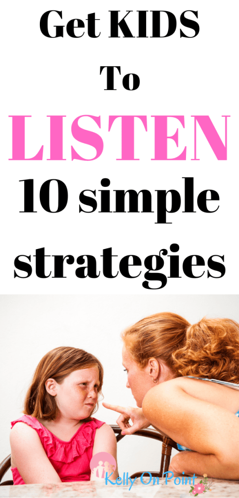 How To Get A Child To Listen And Follow Directions -