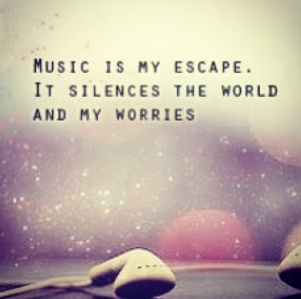 Headphones In World Out Wise Words Spoke Pinterest Music