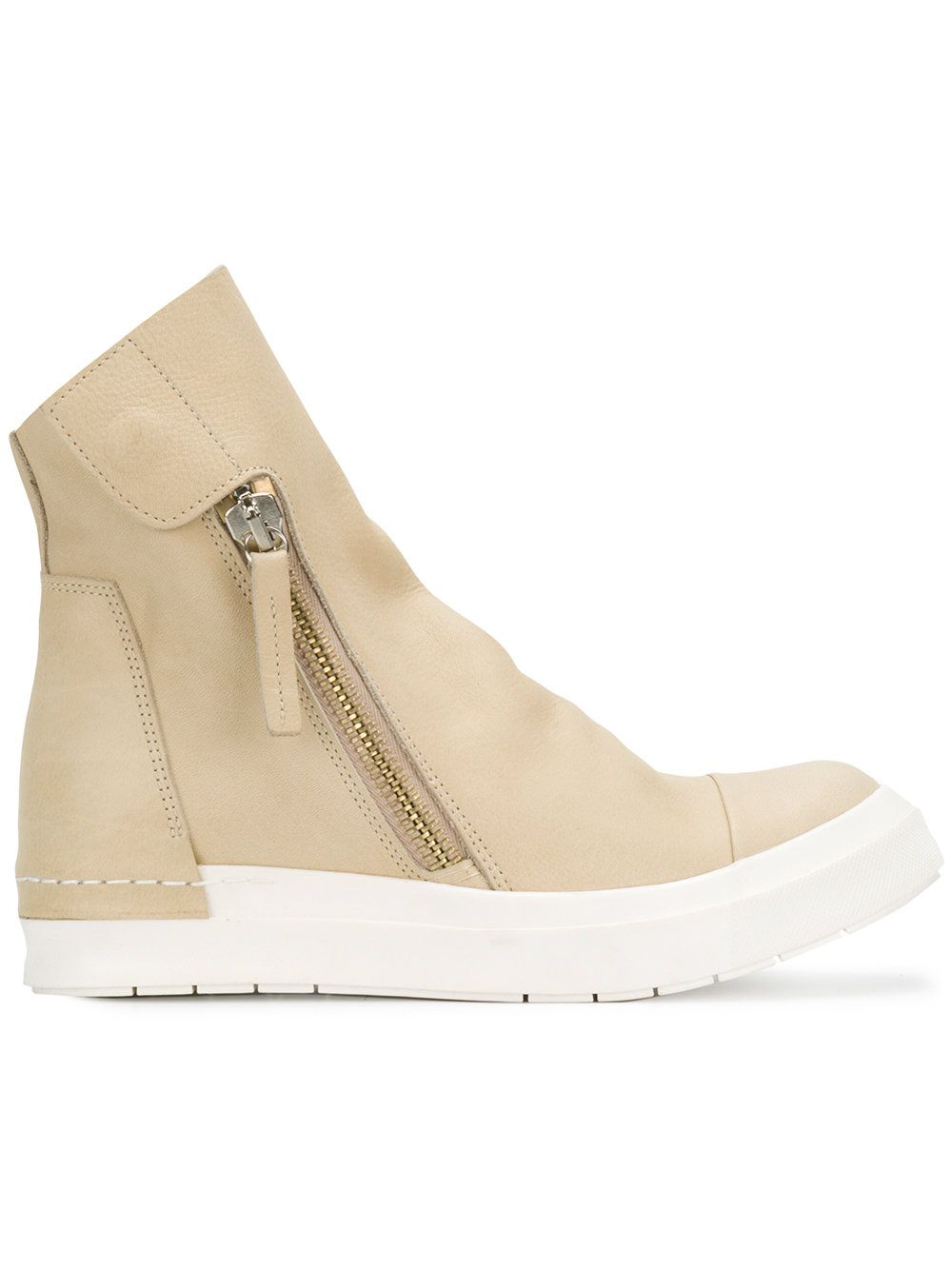 oversized tongue sneakers - Nude & Neutrals Cinzia Araia EOHiUXq
