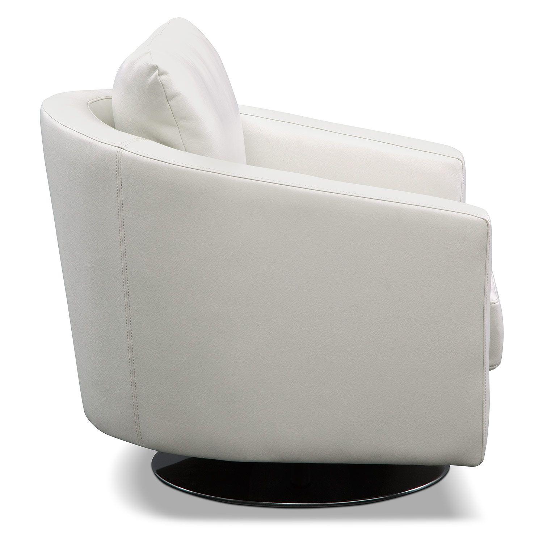 sabrina swivel chair american signature furniture for the home rh pinterest com