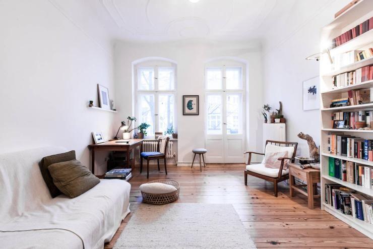Die perfekte Einrichtungsinspiration für Altbauwohnungen - regale für wohnzimmer