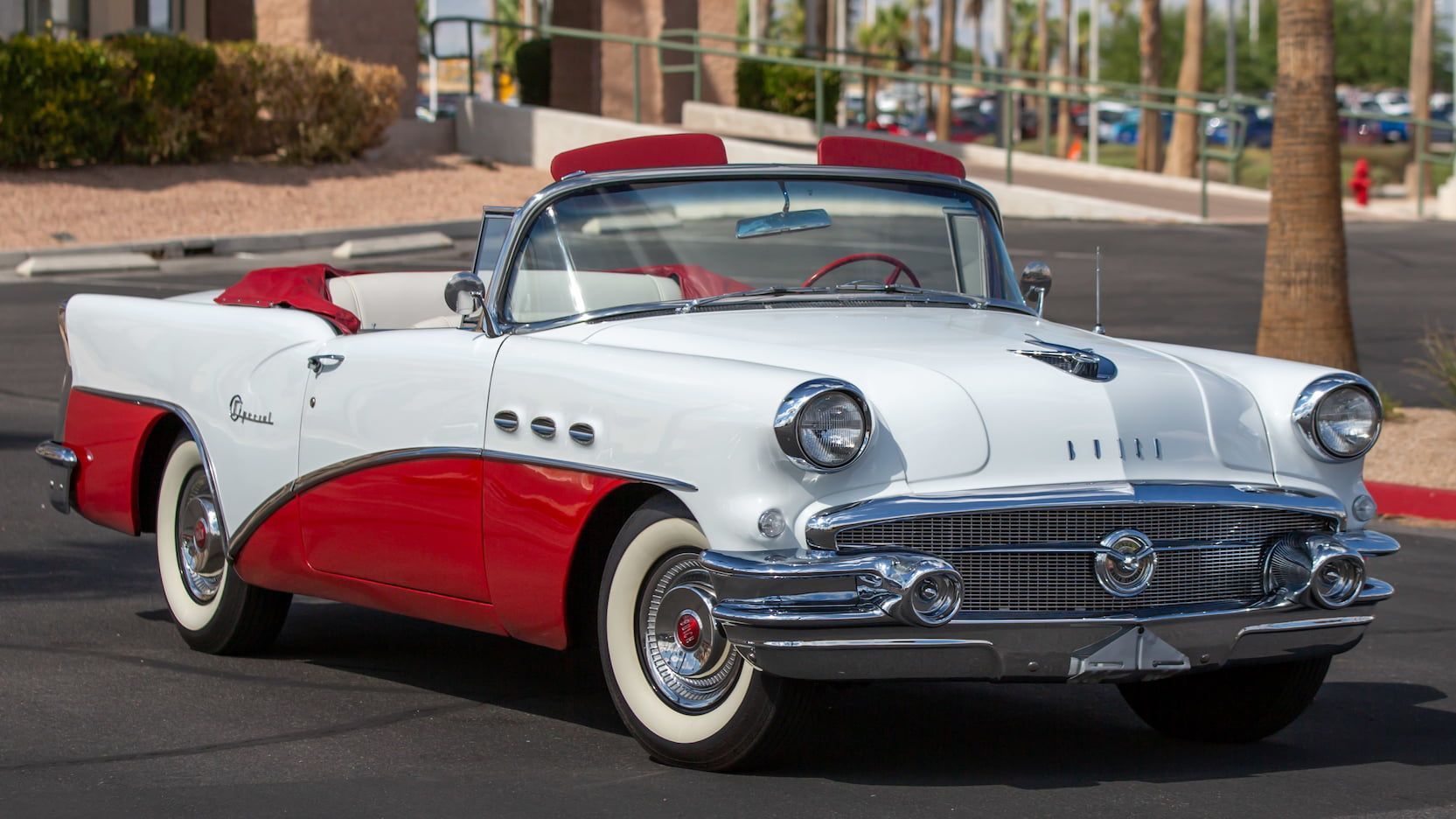 1956 Buick Special Convertible presented as Lot F96.1 at